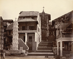Village of Walkeshwar, Malabar Point, Bombay.